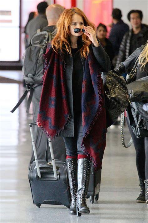 Debbie Ryan Style - at LAX Airport, March 2015 • CelebMafia