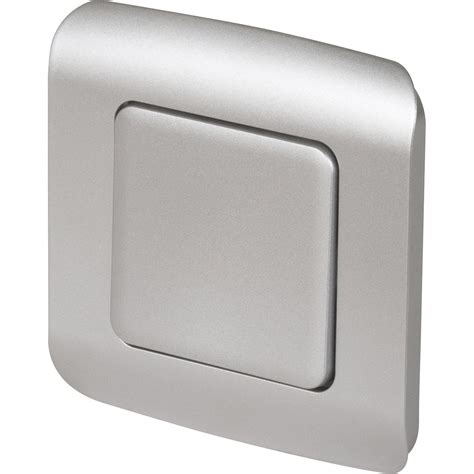 montage cuisine leroy merlin interrupteur va et vient encastrable aluminium lexman