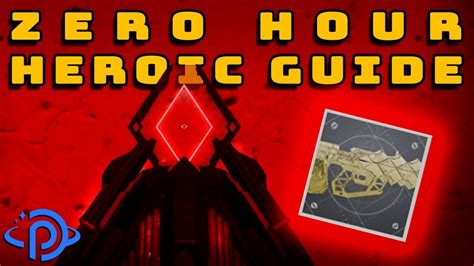 hour zero heroic destiny outbreak perfected guide catalyst mission