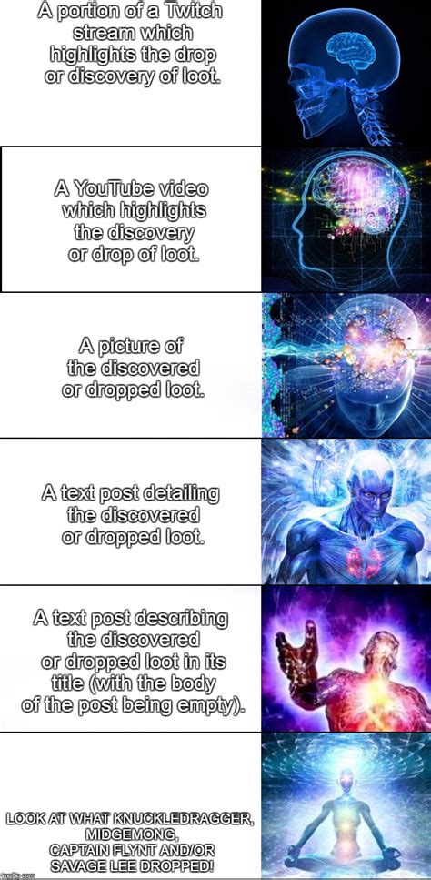 Brain Meme - expanding brain imgflip