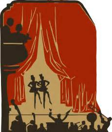 Clipart - Stage show