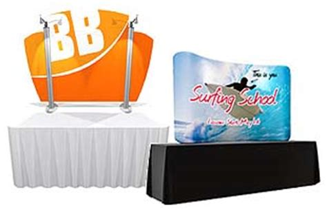 tension fabric table covers tension fabric displays stretch graphics backdrops covers