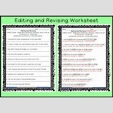 Revising And Editing Sentences Printable Worksheet By Workaholic Nbct  Teachers Pay Teachers