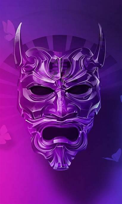 Oni Mask 4k Wallpapers Devil 1080 Iphone