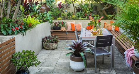 how to design your small back garden space better homes