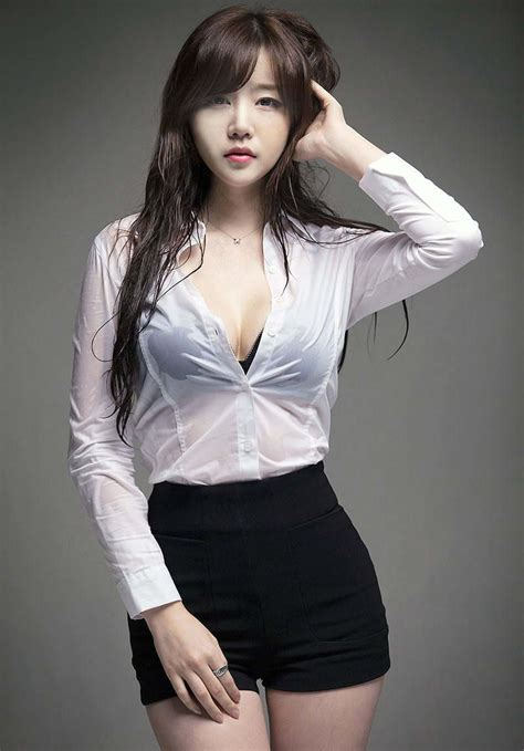 White Shirt Asian Hotties Tumblr Non Nude Bang Korean