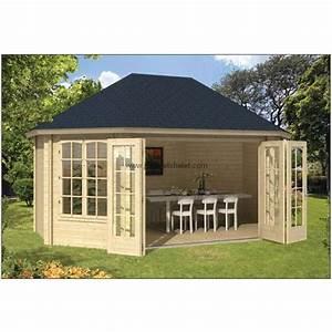 chalet bois en kit bureau de jardin gudrun bois 45mm With bureau de jardin en bois
