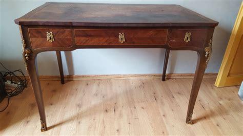 bureau style ancien estimation mobiliers anciens bureau style louis xv