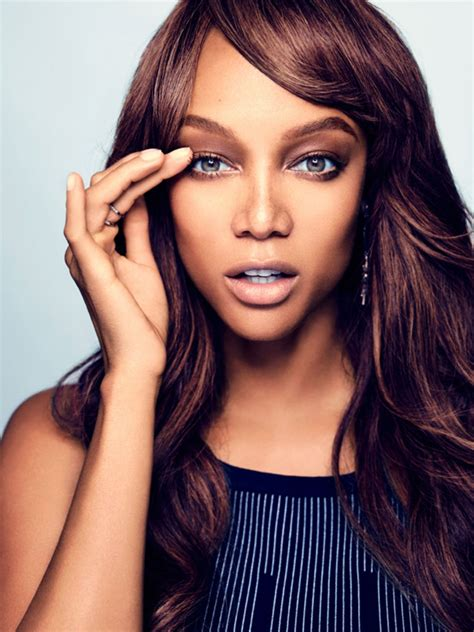 supermodel tyra banks launches makeup  glamour