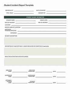 fire incident report form template - free incident report templates smartsheet