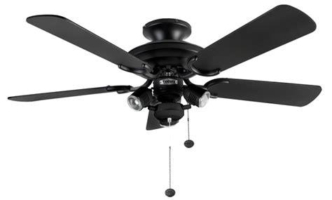 fantasia 110996 42in mayfair combi matt black ceiling fan