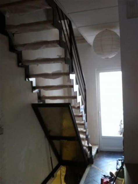escalier m 233 tallique sur mesure dans le nord pas de calais omer dunkerque trappe cave