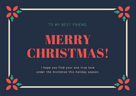 red  green mistletoe funny christmas card templates