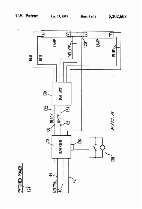 Ballast Wiring Diagram T8 by Electronic Ballast Wiring Diagram Collection