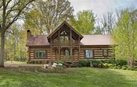 luxury log cabin for sale in tn hooked on houses