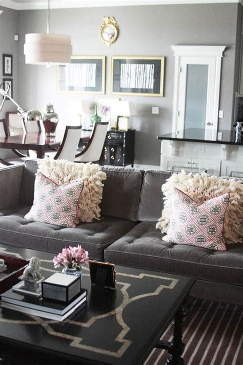 red and grey sofa a guide to using neutral colors in the home