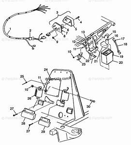 Polaris Atv 1998 Oem Parts Diagram For Electrical  Taillight Xplorer 300