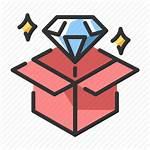 Value Icon Proposition Success Customer Profit Diamond