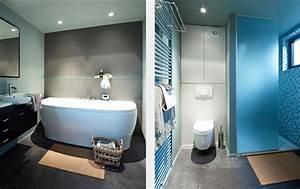 awesome cuisine mur bleu turquoise ideas design trends With couleur salle de bain bleu