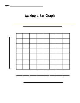 bar graph template a bar graph template by bre doyle teachers pay teachers