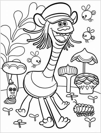 Trolls Coloring Tour Cooper Printable Coloringonly