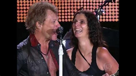 Jon Bon Jovi Beija Palco Rock Rio Youtube