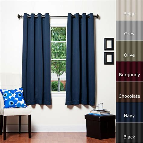 home fashion thermal insulated blackout curtain