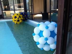 Decoration De Piscine : d coration piscine avec des ballons l 39 h lium ~ Zukunftsfamilie.com Idées de Décoration