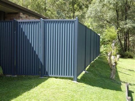 galvanized steel fencing and steel on