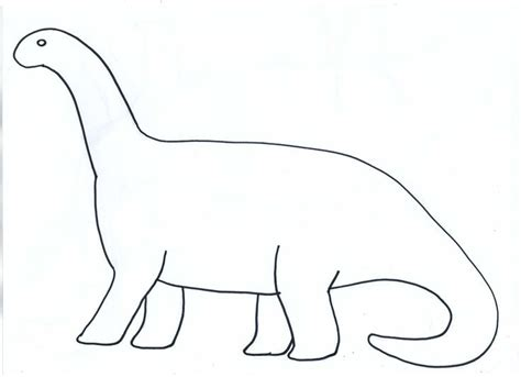 Cut Out Dinosaur Shapes Template