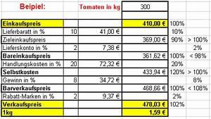 Verkaufspreis Berechnen : vertiefende informationen zur sach und mathe bezogen auf die sachsituation ein besuch beim ~ Themetempest.com Abrechnung