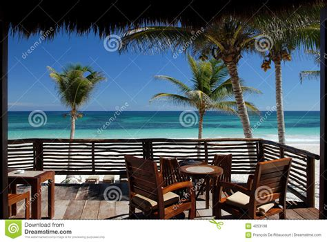 tropical patio royalty free stock photos image