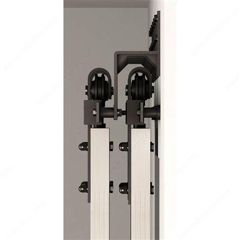 rail porte coulissante grange support mural pour porte coulissante type porte de grange sur rail plat quincaillerie onward