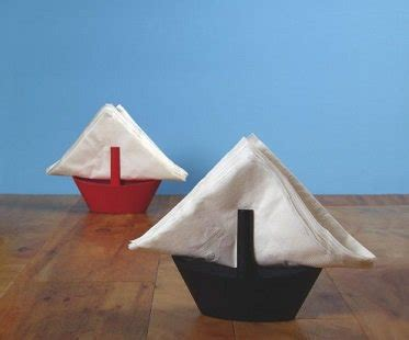 How To Make A Boat From A Napkin by Boat Napkin Holder