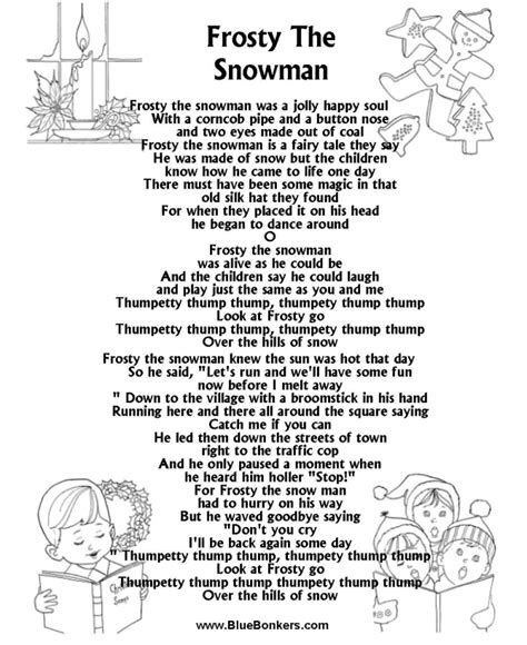 how to write a classic christmas song and why it s harder than miss jacobson 39 s frosty colorized