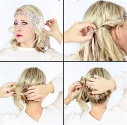 frisuren zur hochzeit selber machen 20er frisuren selber machen 40 haarstylings zur mottoparty