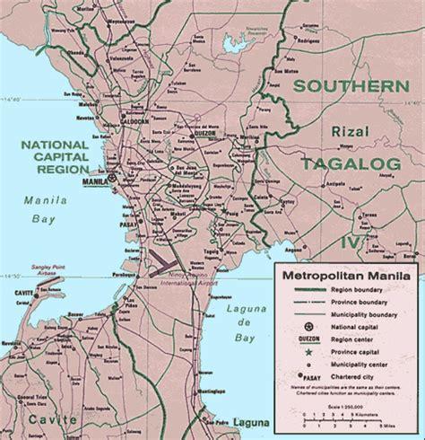 maps  manila