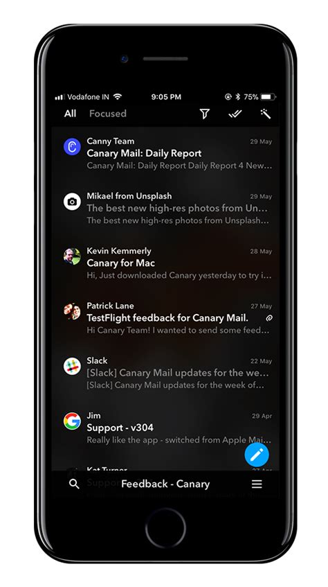 best iphone email app canary mail best email app for mac ios with pgp encryption 3249
