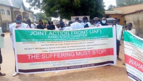 Security agencies disrupt fuel hike protest in Kano - TODAY