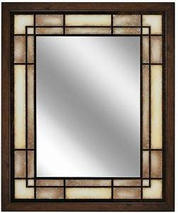 large framed bathroom vanity wall mirror decorative With hanging bathroom mirrors with frame