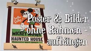 Poster Aufhängen Ohne Rahmen : bilder poster aufh ngen ohne rahmen posterleisten diy mit holz bauen youtube ~ Bigdaddyawards.com Haus und Dekorationen