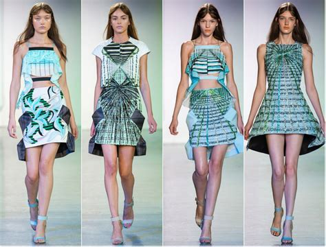 FASHION: PETER PILOTTO SS14 SHOW   Freak Deluxe