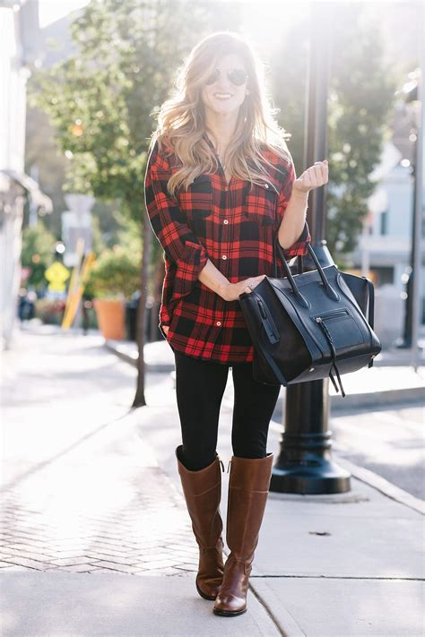 Plaid Tunic + Riding Boots on Sale + Pre Black Friday Sales | BrightonTheDay