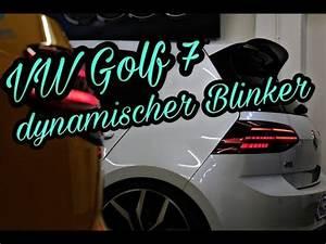Golf 7 Dynamische Blinker Nachrüsten : vw golf 7 facelift led r ckleuchten dynamischer blinker ~ Kayakingforconservation.com Haus und Dekorationen