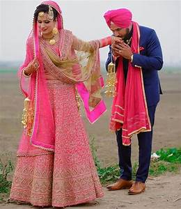 35 Punjabi Bridal Lehenga Styles that You Would Want to ...