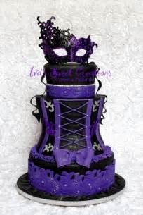 purple corset wedding cake wedding ideas