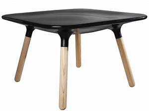 Table Basse Made Com : table basse marguerite h 45 cm noir stamp edition made in design ~ Melissatoandfro.com Idées de Décoration