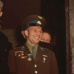Portraits of Yuri Gagarin, The First Human to Journey into ...
