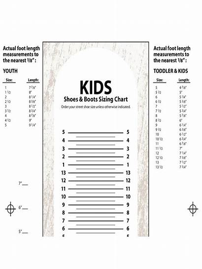 Chart Shoe Printable Sizing Shoes Pdf Foot
