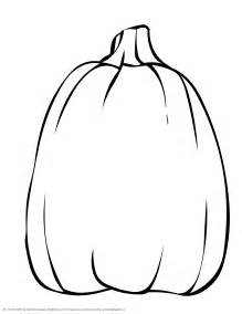 Tall Pumpkin Coloring Page